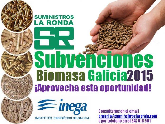 subvenciones inega biomasa 2015