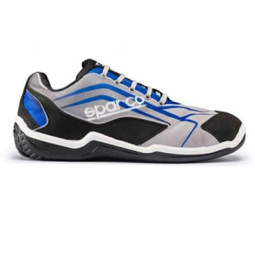 Zapato touring low S1P N4. Gris / azul. Talla 43