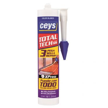 Ceys total tech blanco. Cartucho 290ml.