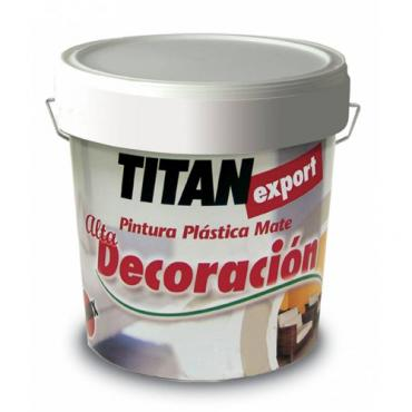 Titan export blanco decorac  15l