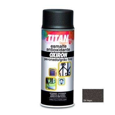 Spray oxiron p. negro 400ml