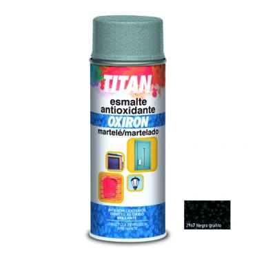 Spray oxiron martele negro grafito 400ml