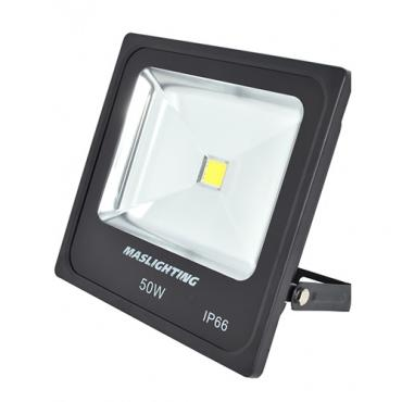 Proyector led 50w 6000 k 3700 lm 120º ip 65 negro